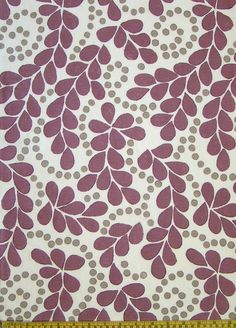 Great hand-printed fabric