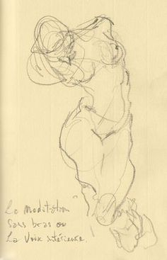 Drawing by Rodin. Gesture Drawing, Life Drawing, Drawing Sketches, Art Drawings, Auguste Rodin, Figure Painting, Figure Drawing, Painting & Drawing, Rodin Drawing