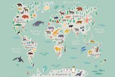 safari-map-childrens-plain-wall-murals