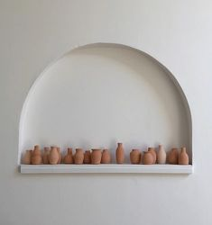 Gifts for guests🏺Terracotta bud vases to decorate the studio and take home after our Sobremesa Dinner at this Saturday. Bedroom Minimalist, Minimalist Interior, Home Design, Interior Design, Deco Boheme, Banquette, Bud Vases, Home Renovation, Terracotta