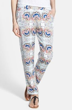 Ella+Moss+'Valerie'+Print+Pants+available+at+#Nordstrom