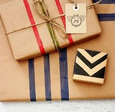 26 Creative Gift Wrapping Ideas with Kraft Paper | Spoonful