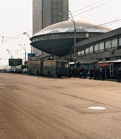 SOVIET BRUTALIST BUILDINGS, 1970-1990, BY FRÉDÉRIC CHAUBIN