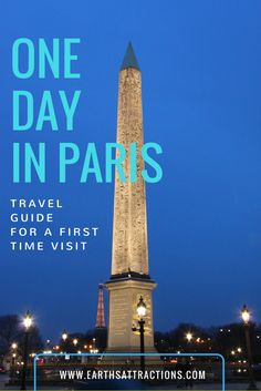 Travel guide: 24 hours in Paris, France