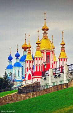Tambov. St John the Baptist and the Church of the Kazan Icon of the Mother of God of Kazan Monastery