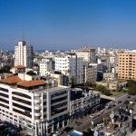 The skyline of Gaza City. Palestinian Doctors Sterilize Women for Honor Reasons