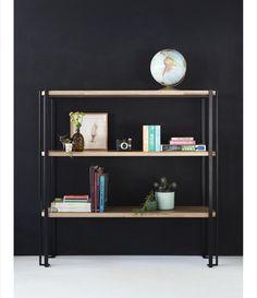 Biblioteca Alce Bookcase, Shelves, Home Decor, Moose, Houses, Oak Tree, Furniture, Shelving, Homemade Home Decor