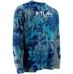 Huk's new line of kryptec apparel! Lightweight, breathable, and very cool looking!
