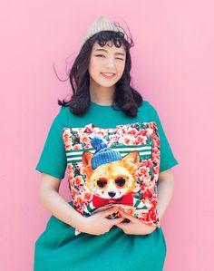 [바보사랑] 스틸앤츄 신상가방..진짜 탐난다! #파우치 #가방 #일러스트 #패션가방 #스틸앤츄 #개 #치타 #기린 #호랑이 #스타일 #메이크업파우치 #Pouch #Bag #Illustrations #FashionBags #stillandchew #Dog #cheetah #giraffe #Tigers #Style #makeuppouch