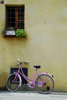 Pink bike...Love it. Just needs a basket!
