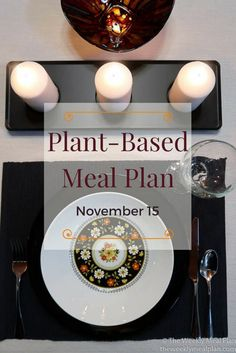 Breakfast, lunch, supper and snacks - check out this 5 day meal plan for the coming week.