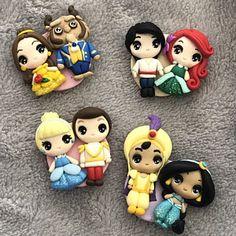Disney Word, Pasta Flexible, Princesas Disney, Clay Art, Cool Toys, Biscuit, Fondant, Polymer Clay, Dolls