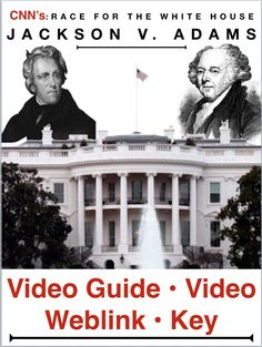 "to the Whitehouse ""Jackson v. Race to the Whitehouse ""Jackson v Adams"" Video Guide plus video web link…Free! Race to the Whitehouse ""Jackson v Adams"" Video Guide plus video web link… Psychology Internships, Psychology Programs, Psychology Student, Teaching American History, American History Lessons, Teaching History, History Classroom, History Lesson Plans, Social Studies Lesson Plans"
