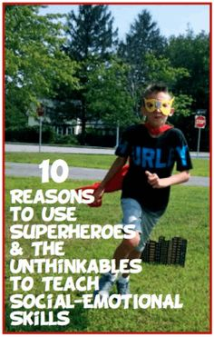 Superflex: A Superhero Social Thinking Curriculum. 10 Reasons You Should Use Superheroes and the Unthinkables to Teach Social- Emotional Skills Elementary School Counseling, School Social Work, School Counselor, Kindergarten Graduation, Elementary Schools, Social Thinking Curriculum, Teaching Social Skills, Social Emotional Learning, Superhero Classroom