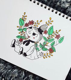 The charracter little my from the moomin books :D One of the family faves for sure! Intagram art page: _asprinkleofasian Moomin Books, Kawaii Chibi, Little My, Art Pages, Totoro, Create Yourself, Etsy Seller, My Arts, Handmade Gifts