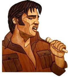 Elvis intarsia.