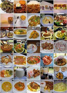 Un poco de todo, mi riquisimo Peru... Not only rich in flavor and taste but plenty of variety!