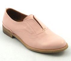#ateliercontent #shoes #platteschoen #pink #leather