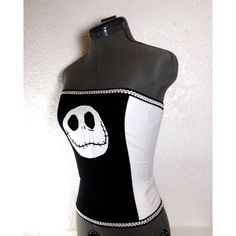 Jack Skellington Corset Nightmare Before Christmas by HelloJude