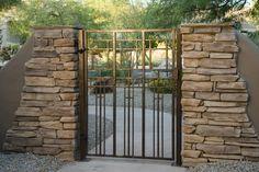 Metal Gates, Security Door, Entry Doors, Pathways, Porch, Art Deco, Yard, Outdoor Structures, Fence Ideas