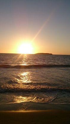 Nascer do sol perfeito