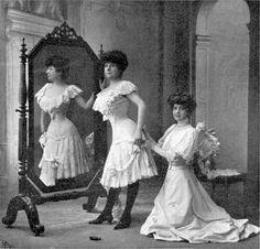 Mode vestimentaire femme 1900