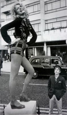 Hot pants by Mary Quant, 1971-- Mary Quant was a mod fashion designer and was also known for the mini skirt