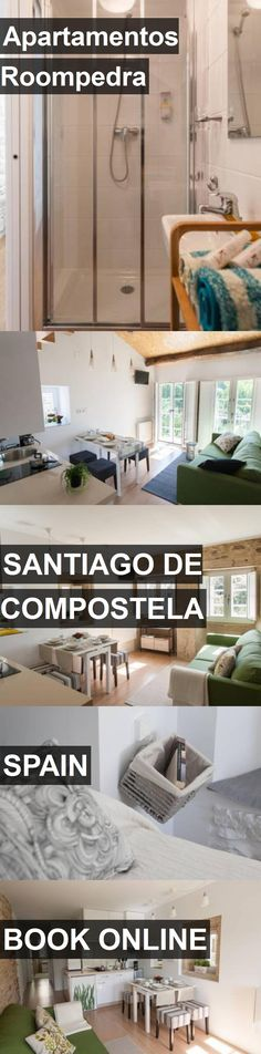 Hotel Apartamentos Roompedra in Santiago de Compostela, Spain. For more information, photos, reviews and best prices please follow the link. #Spain #SantiagodeCompostela #travel #vacation #hotel