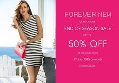 Its HERE !#ForeverNewIndia announces End of Season Sale, Upto 50% Off on your favourite accessories #forevernewbigsale  #ForumCourtyard