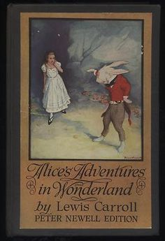 Alice's Adventures in Wonderland by Lewis Carroll illustrated by Peter Newell, 1923