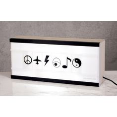 Compact light box by Page Thirty Three - Raw Wood via FromtheOwl.com #FromTheOwl #decor LIGHTBOX SOO cool!