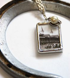 Kentucky Derby Charm Necklace