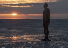 'Another Place' Crosby beach
