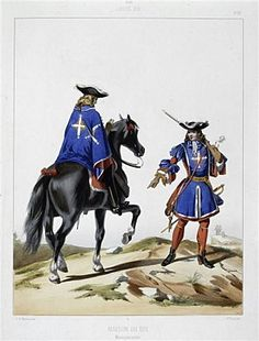 Mousquetaires-de-la-maison-du-roi- - Musketeers of the Guard - Wikipedia, the free encyclopedia