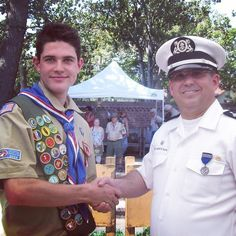 I had the honor of attending an Eagle Court of Honor today. Great new Eagle Scout who plans to attend JC and become a firefighter. #SeaScouts #EagleScout