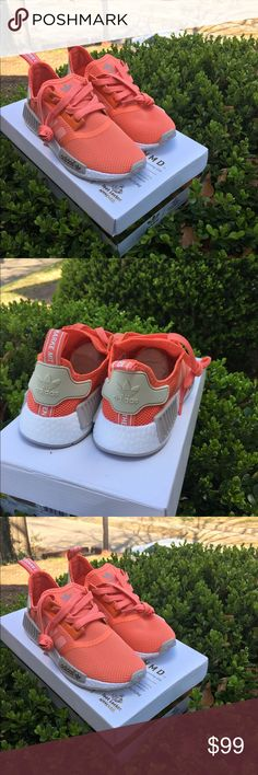 Coral nmd adidas women running shoes 8.5 Brand new size 8.5 Adidas Shoes Athletic Shoes