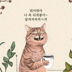 오늘의유머 - 심드렁한 뚱괭이의 생활 Triangle Art, Japanese Cat, Super Cat, Cat People, Elements Of Art, Cool Pets, Cat Drawing, Beautiful Cats, Cat Art