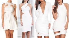 White Is The New Black: 10 Stunning Little White Dresses - FLAVOURMAG