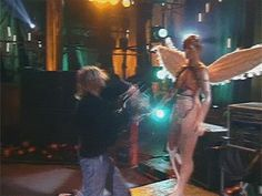 Nirvana In Utero Tour Kurt Cobain Mannequin GIF Knocking Head Off