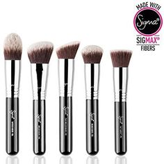Shop Sigma's makeup brush sets to find a brush combination perfect for your makeup routine. From eye brush sets to face brush sets, Sigma has you covered! Sigma Brushes Set, Sigma Makeup Brushes, Face Brushes, Cheek Makeup, Makeup Brush Set, Makeup Blush, Makeup Kit, Makeup Tools, Beauty Bay