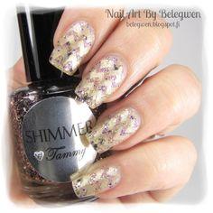 Nail Art by Belegwen: Shimmer Polish: Tammy