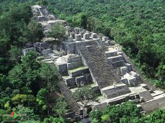 Calakumul is a Mayan site inside the jungles of the Mexican state of Campeche