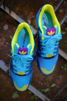 ZX Flux Weave 'Aqua' Buy it @adidas.co.uk
