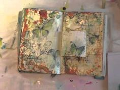 weekly art journaling video series  http://donnadowney.typepad.com/simply_me/inspiration-wednesdays/