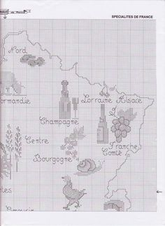 Culinary France Map 3/7