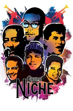 Grupo Niche Art Print by The Laundry Lady - X-Small Grupo Niche, Musica Salsa, Salsa Music, Buy Frames, Printing Process, Music Artists, Latina, Christian, Art Prints