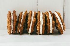 Oatmeal Cream Pies recipe: Brown butter and Bourbon adult version. #food52