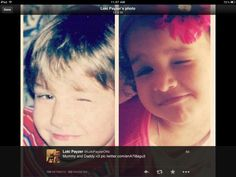 This is too cute..Liam and Danielle... Follow Loki on twitter