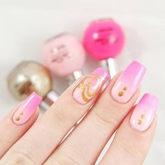"""Breast Cancer Awareness Month continues and our nail art today comes from @liliumzz featuring a gradient using """"Sailaway Heather"""", """"Pamper me Pink"""" & """"Golden Sands"""". . ** 10% of Website Sales of """"Sailaway Heather"""" is always donated year-round to charities promoting breast cancer awareness**. 🐬 Available online: www.seasiren.com.au . 🐬 USA www.happybunnycosmetics.com . #seasirencosmetics #nailpolish #breastcancerawareness #pinkribbon"""