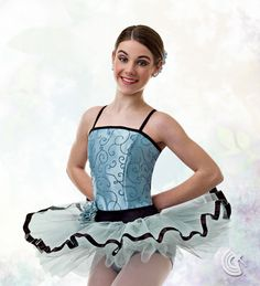 Curtain Call Costumes® - Enchanted Evening Ballet dance costume, available in two colors.